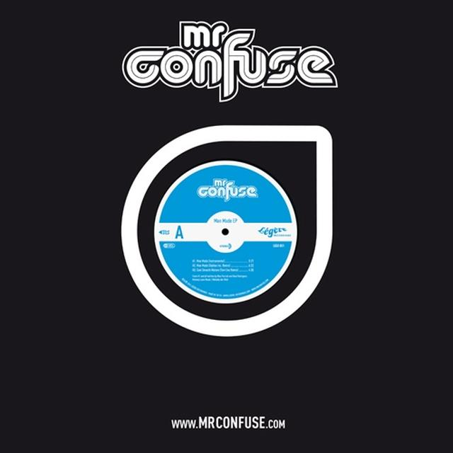 Mr. Confuse MAN MADE EP Vinyl Record - UK Release