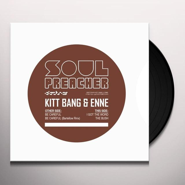 Kitt Bang & Enne SOUL PREACHER Vinyl Record - UK Release