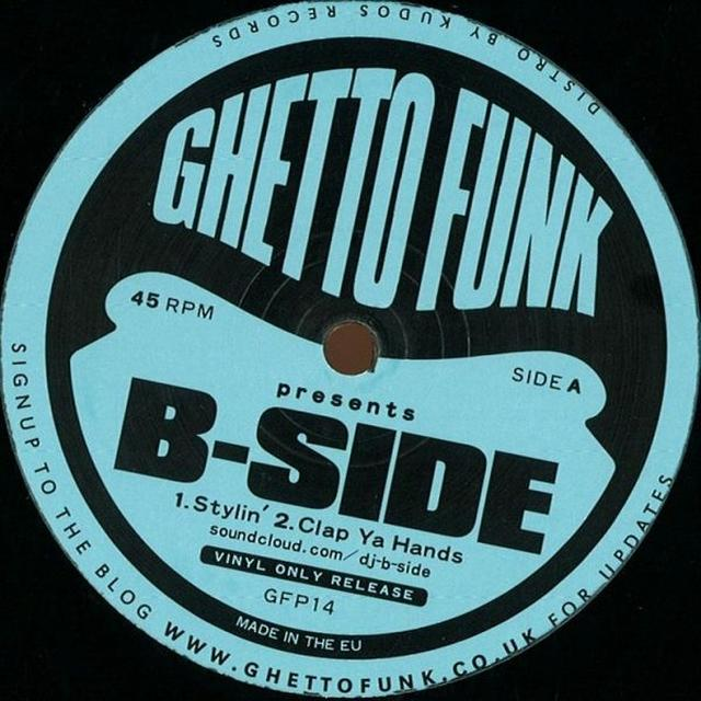 B-Side GHETTO FUNK PRESENTS Vinyl Record - UK Release