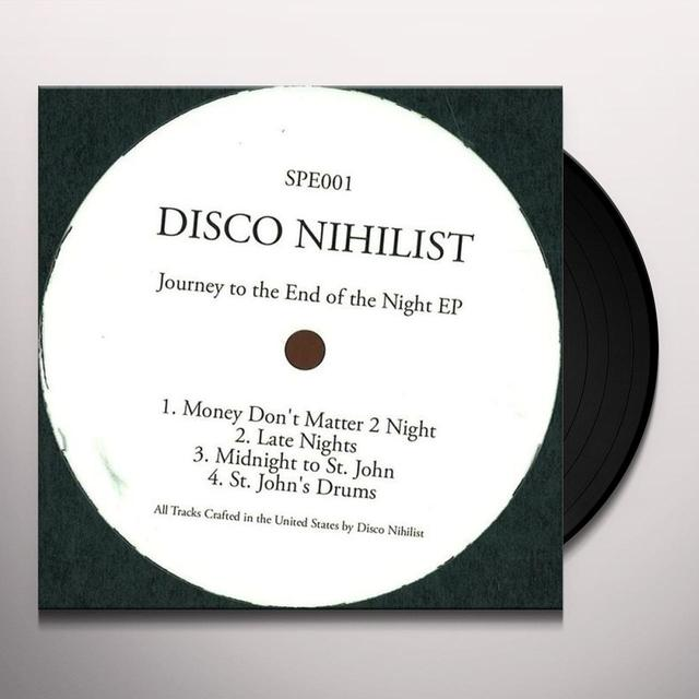 Disco Nihilist JOURNEY TO THE END OF THE NIGHT EP Vinyl Record - UK Import
