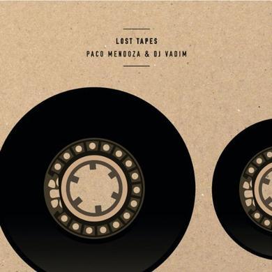 Paco Mendoza & Dj Vadim LOST TAPES EP Vinyl Record - UK Release