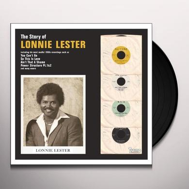 Lonnie Lester STORY OF Vinyl Record