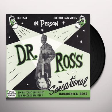 Doctor Ross SENSATIONAL HARMONICA BOSS Vinyl Record - UK Import