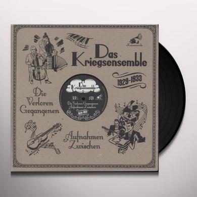 Das Kriegsensemble DIE VERLOREN GEGANGENEN AUFNAHMEN ZWISCHEN-LP Vinyl Record