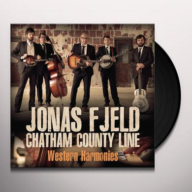 Jonas Fjeld & Chatham County Line WESTERN HARMONIES Vinyl Record