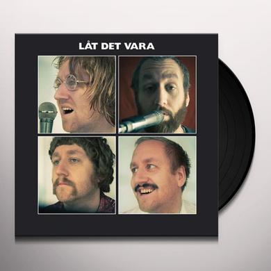 Jonas Kullhammar Quartet LAT DET VARA Vinyl Record