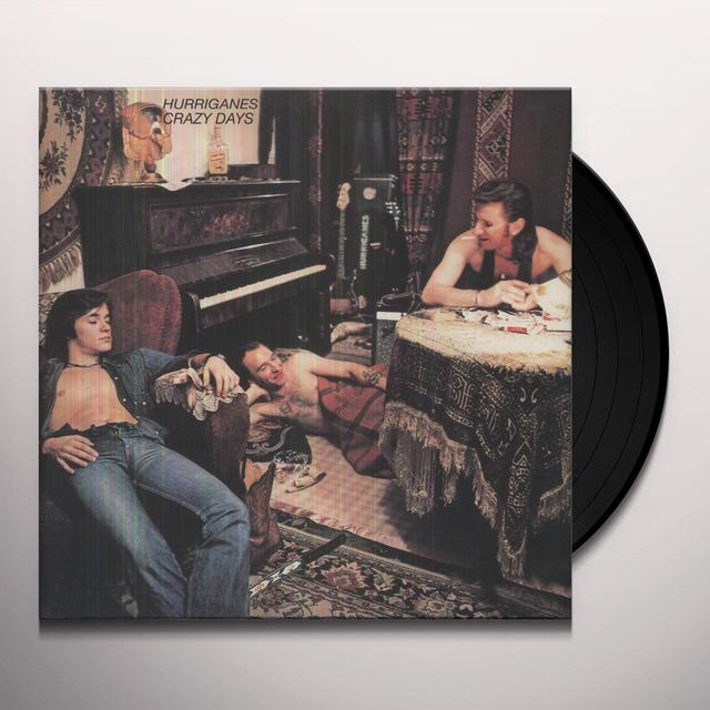 Hurriganes CRAZY DAYS Vinyl Record - Holland Import