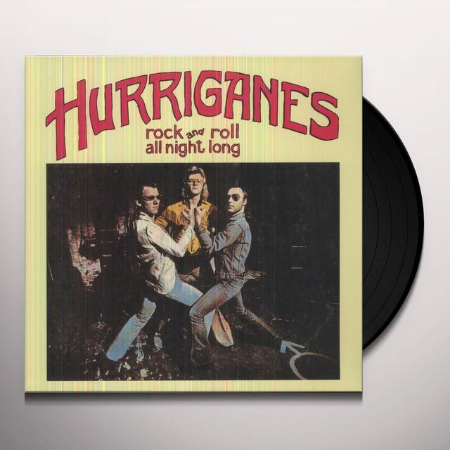 Hurriganes ROCK& ROLL ALL NIGHT LONG Vinyl Record - Holland Release