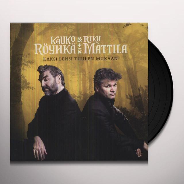 Kauko R?Yhk? & Riku Mattila KAKSI LENSI TUULEN MUKAAN Vinyl Record - Holland Import