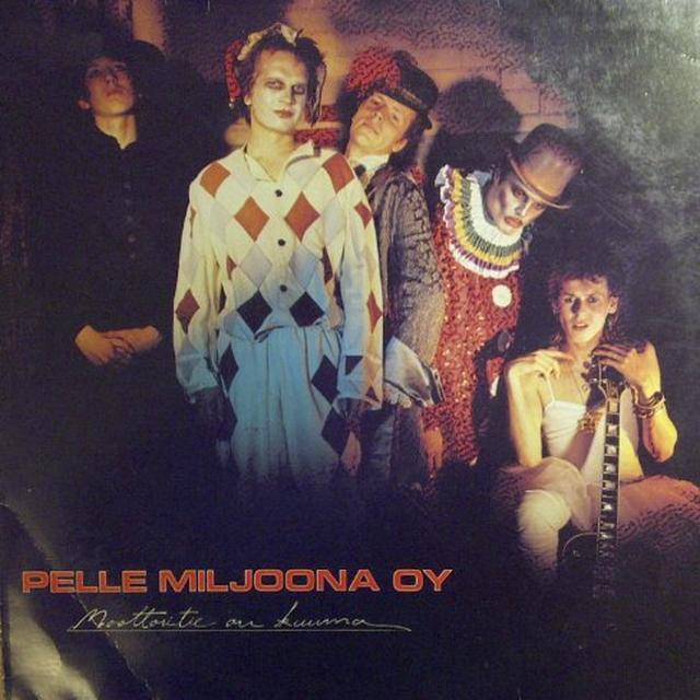 Pelle Miljoona Oy MOOTTORITIE ON KUUMA Vinyl Record