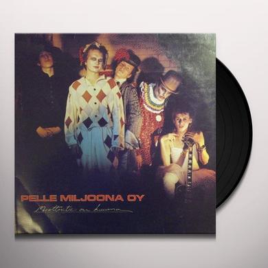 Pelle Miljoona Oy MOOTTORITIE ON KUUMA Vinyl Record - Holland Import