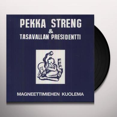 Streng Pekka MAGNEETTIMIEHEN KUOLEMA Vinyl Record - Holland Release