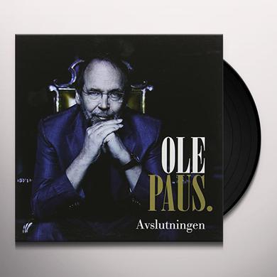 Ole Paus AVSLUTNINGEN Vinyl Record