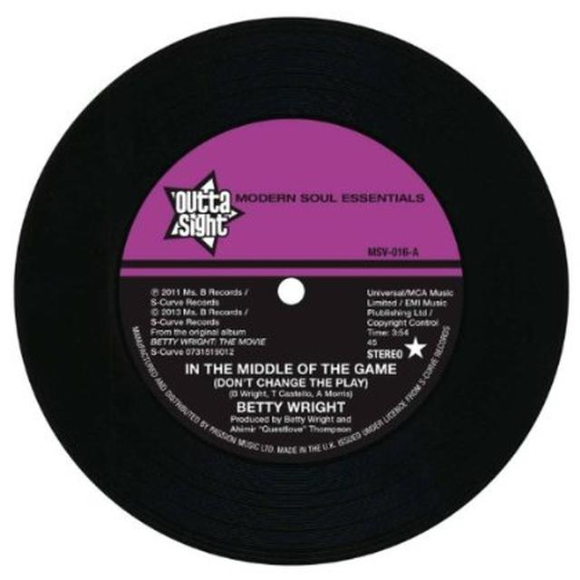 Wright,Betty,Joss Stone IN THE MIDDLE OF THE GAME/WHISPER IN THE WIND Vinyl Record