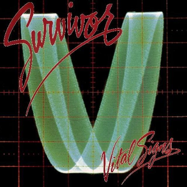 Survivor VITAL SIGNS Vinyl Record - UK Import