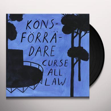 Konsforradare CURSE ALL LAW Vinyl Record