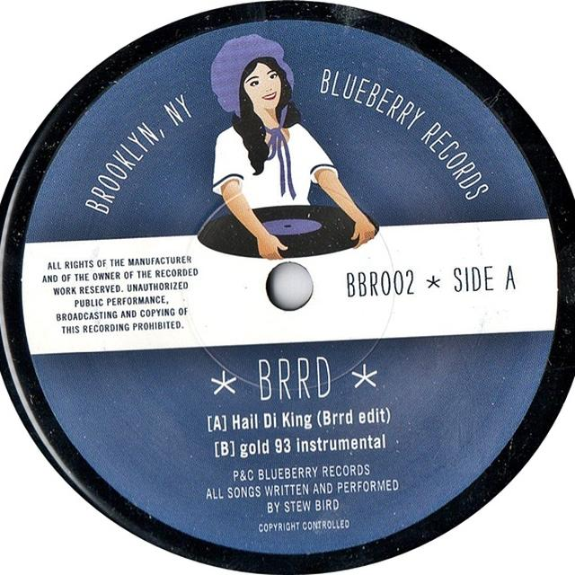 Brrd HAIL DI KING/GOLD 93 Vinyl Record