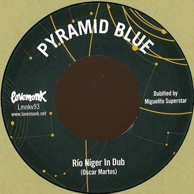 PYRAMID BLUE IN DUB Vinyl Record - UK Release