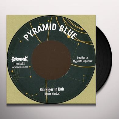 PYRAMID BLUE IN DUB Vinyl Record - UK Release