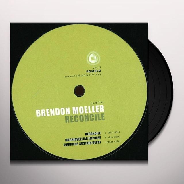 Brendon Moeller RECONCILE Vinyl Record - UK Import