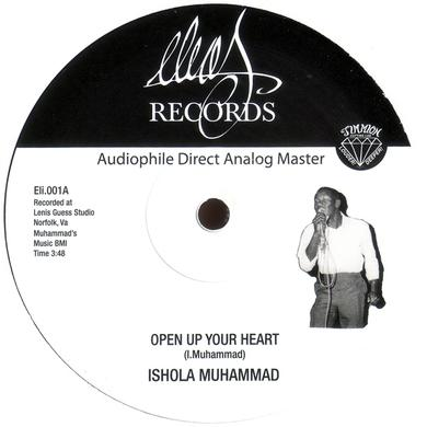 Ishola Muhammad OPEN UP YOUR HEART Vinyl Record - UK Release