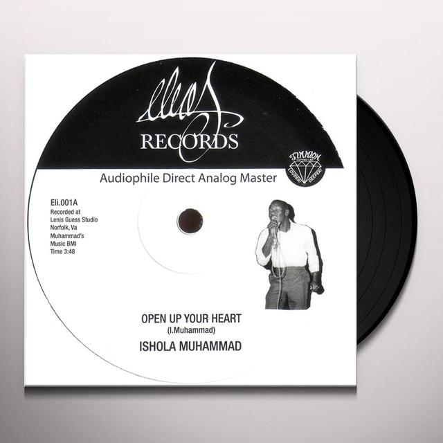 Ishola Muhammad OPEN UP YOUR HEART Vinyl Record - UK Release