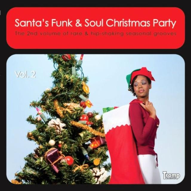 VOL. 2-SANTA'S FUNK & SOUL CHRISTMAS PARTY / VAR Vinyl Record