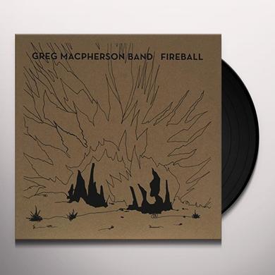 Greg Band Macpherson FIREBALL Vinyl Record - Canada Import