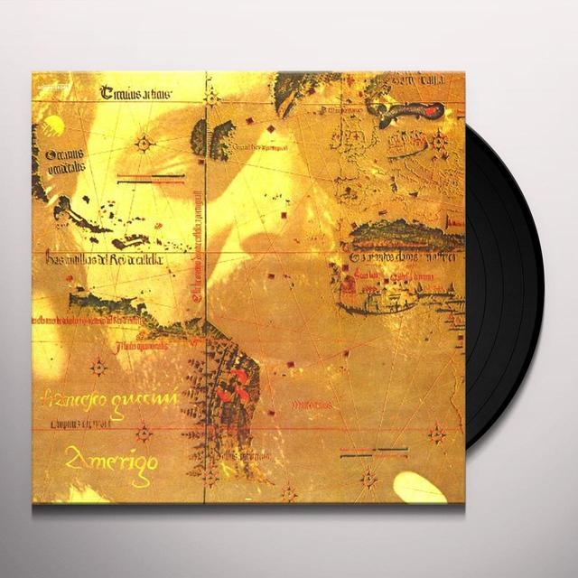 Francesco Guccini AMERIGO Vinyl Record - Italy Import