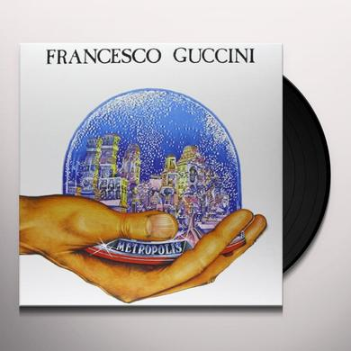 Francesco Guccini METROPOLIS Vinyl Record - Italy Import