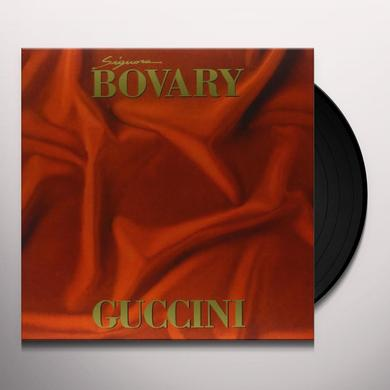 Francesco Guccini SIGNORA BOVARY Vinyl Record - Italy Import