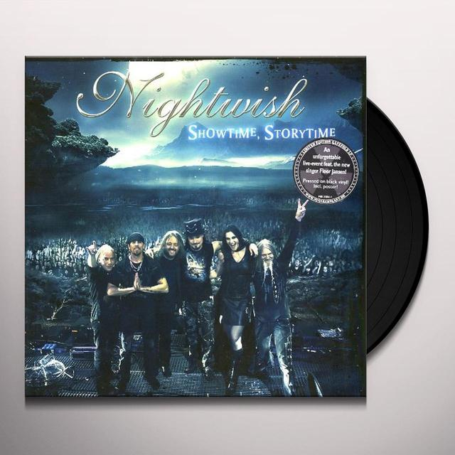 Nightwish SHOWTIME STORYTIME Vinyl Record - Holland Release