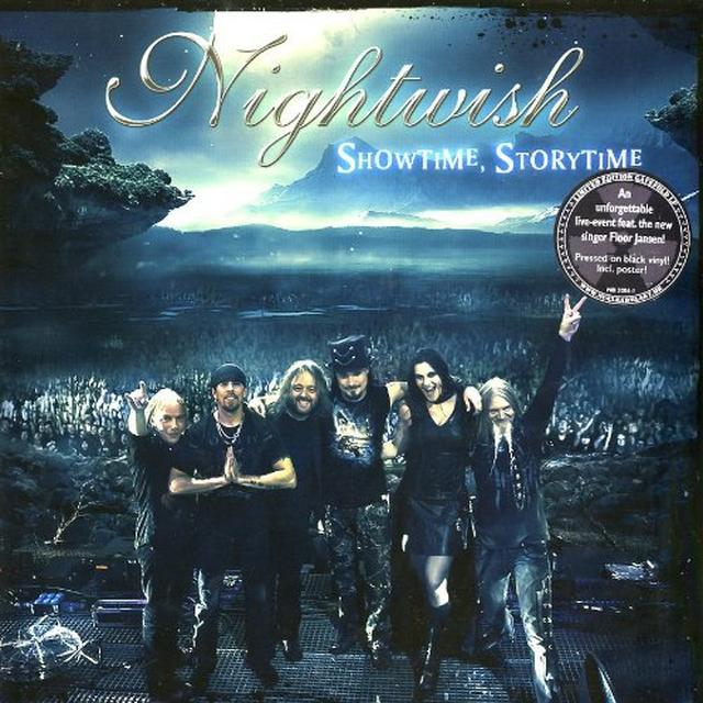 Nightwish SHOWTIME STORYTIME Vinyl Record - Holland Import