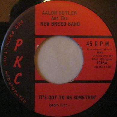 Aalon Butler & The New Breed Band IT'S GOT TO BE SOMETHIN' Vinyl Record - UK Release