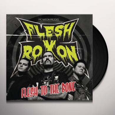 Flesh Roxon FLESH TO THE BONE Vinyl Record - Portugal Release