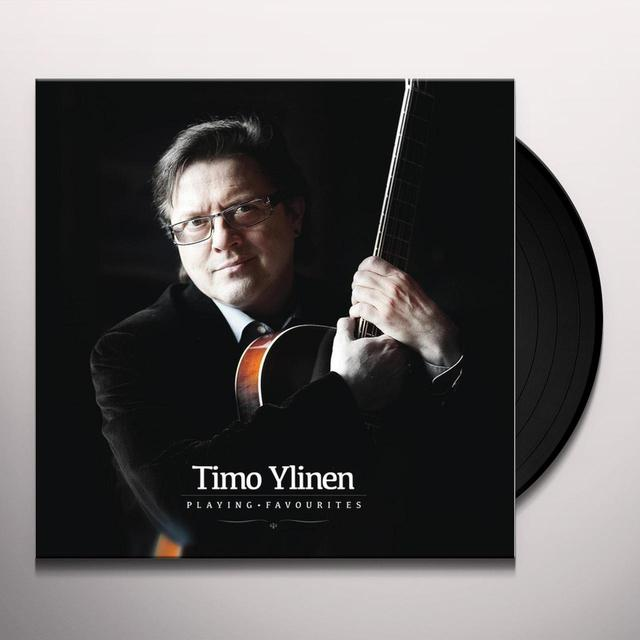 Timo Ylinen PLAYING FAVOURITES Vinyl Record