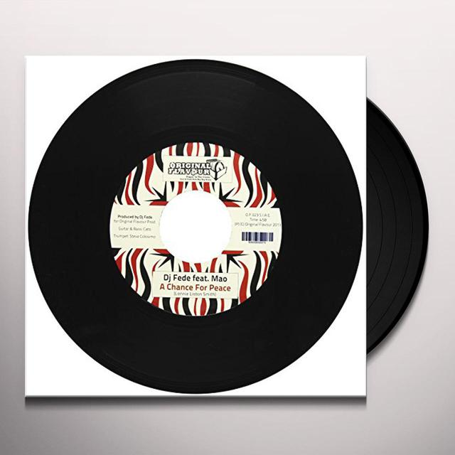 Dj Fede VOL. 2-CHANGE FOR PEACE/TORINO VIOLENTA Vinyl Record