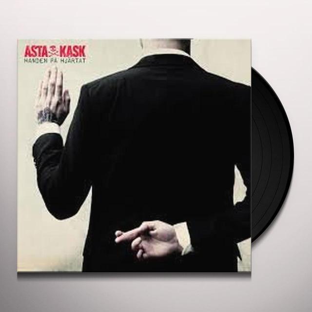 Asta Kask HANDEN PA HJARTAT Vinyl Record - Holland Import