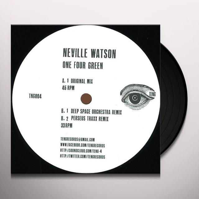Neville Watson ONE FOUR GREEN Vinyl Record - UK Import