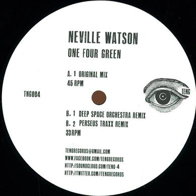 Neville Watson ONE FOUR GREEN Vinyl Record - UK Release