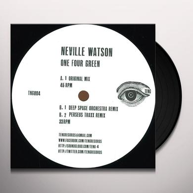 Neville Watson ONE FOUR GREEN Vinyl Record - UK Release