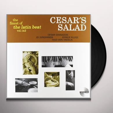 Cesars Salad VOL. 1-2-FINEST OF THE LATIN BEAT Vinyl Record - UK Release