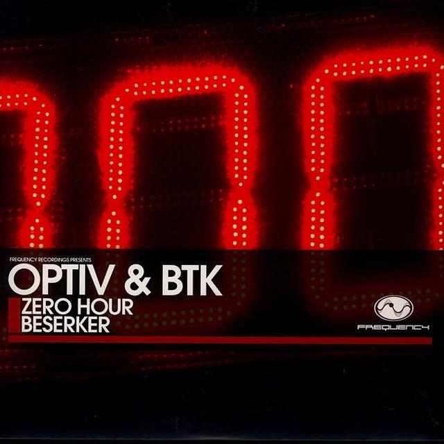 Optiv & Btk ZERO HOUR/BESERKER Vinyl Record - UK Import