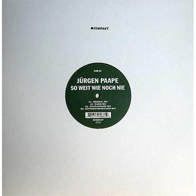 Jurgen Paape SO WEIT WIE NOCH NIE Vinyl Record - UK Import