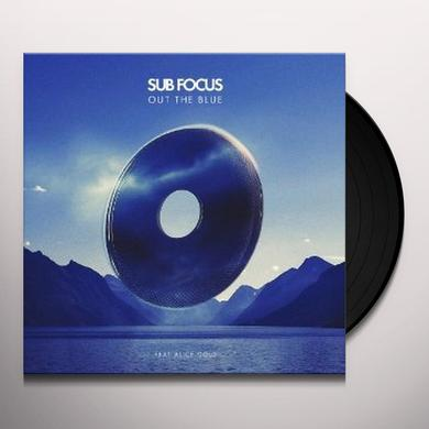Sub Focus OUT THE BLUE (ORIGINAL)/XILENT REMIX) Vinyl Record - UK Import