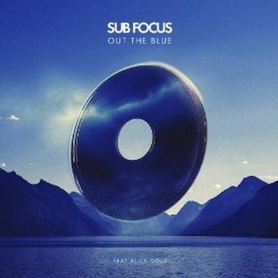 Sub Focus OUT THE BLUE (ORIGINAL)/XILENT REMIX) Vinyl Record - UK Release