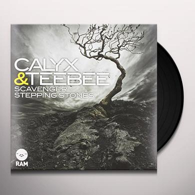 Calyx & Teebee SCAVENGERS/STEPPING STONES Vinyl Record - UK Import