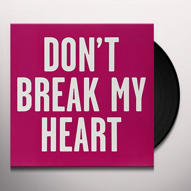 New Sins DONT BREAK MY HEART Vinyl Record - UK Import