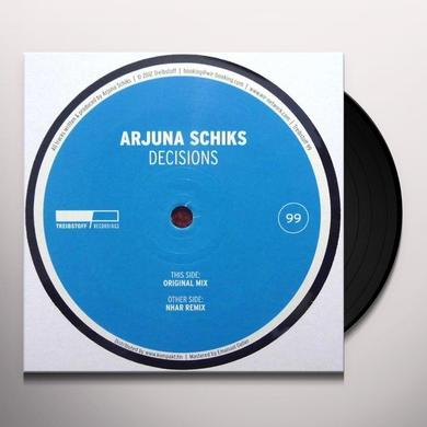 Arjuna Schiks DECISIONS Vinyl Record - UK Import