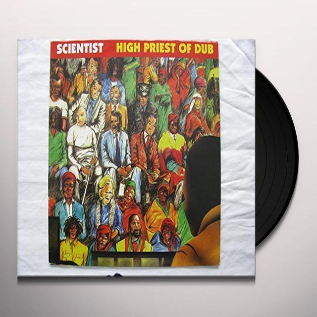 Scientist HIGH PRIEST OF DUB Vinyl Record - UK Release
